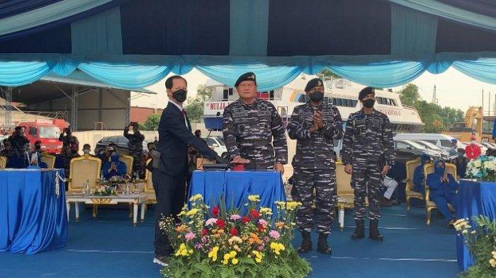 KSAL Luncurkan Dua Kapal Perang Baru buat Jaga Keamanan Laut Indonesia