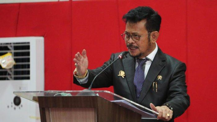 Mentan SYL Bicara Hubungan Pangan & Hukum di Dies Natalis FH Unhas