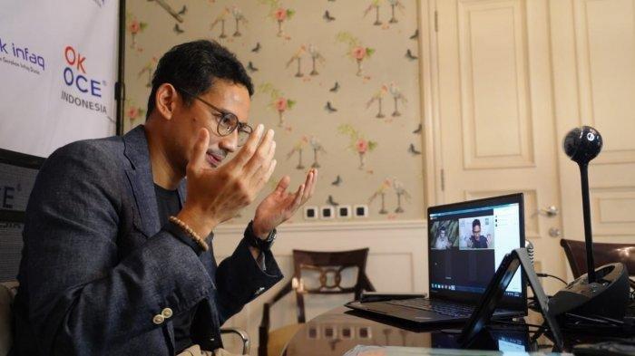 Sandiaga Naik Innova Menuju Kantor Kemenpar Usai Dilantik Jokowi Jadi Menteri di Istana